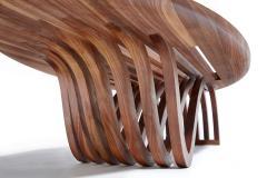 Adam Zimmerman Elliptical Coffee Table by Studio Craft Artist Adam Zimmerman 21st Century - 1103607
