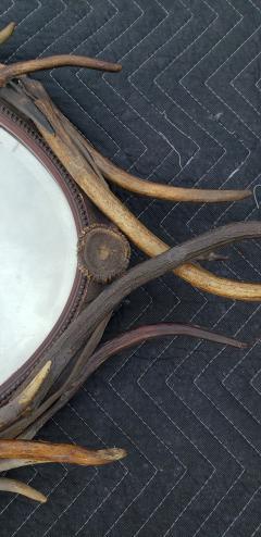 Adirondack Natural Antler Mirror - 1610233