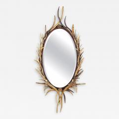 Adirondack Natural Antler Mirror - 1610761
