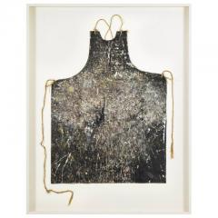 Adja Yunkers Adja Yunkers Artists Apron Mounted and Framed - 569319