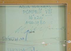 Adja Yunkers Adja Yunkers Collage Pompeii Vlll USA 1980 - 548532