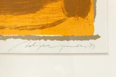 Adja Yunkers Adja Yunkers Signed Lithograph Miro  - 1945461