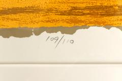 Adja Yunkers Adja Yunkers Signed Lithograph Miro  - 1945462