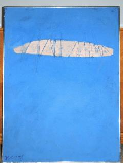 Adja Yunkers Skywriting Acrylic Painting by Adja Yunkers 1978 - 1665421
