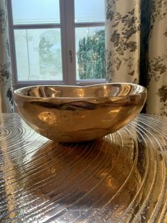 Ado Chale Large Bronze cup by Ado Chale - 1763132