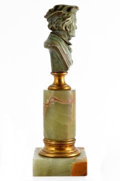 Adolf Karl Brutt Bronze Bust E Boermel By Adolf Karl Brutt 1910 Germany H Gladenbeck Son - 1324972