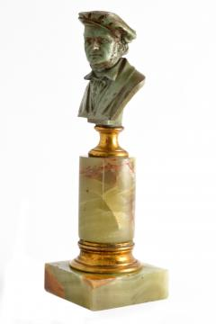 Adolf Karl Brutt Bronze Bust E Boermel By Adolf Karl Brutt 1910 Germany H Gladenbeck Son - 1324974