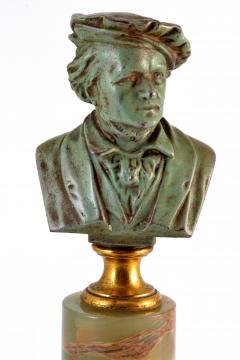 Adolf Karl Brutt Bronze Bust E Boermel By Adolf Karl Brutt 1910 Germany H Gladenbeck Son - 1324976