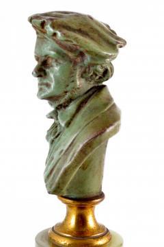 Adolf Karl Brutt Bronze Bust E Boermel By Adolf Karl Brutt 1910 Germany H Gladenbeck Son - 1324977