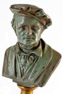 Adolf Karl Brutt Bronze Bust E Boermel By Adolf Karl Brutt 1910 Germany H Gladenbeck Son - 1324980