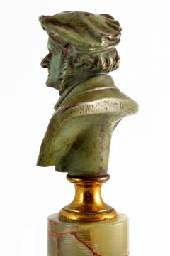 Adolf Karl Brutt Bronze Bust E Boermel By Adolf Karl Brutt 1910 Germany H Gladenbeck Son - 1324981