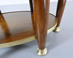 Adolf Loos Art Nouveau Table In The Style Of Adolf Loos Wood And Brass - 1813671