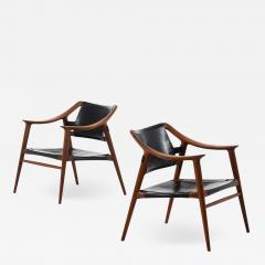 Adolf Relling Easy Chairs Model 56 2 Bambi Produced by Gustav Bahus - 1888246