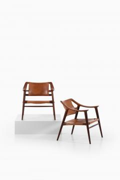 Adolf Relling Easy Chairs Model 56 2 Bambi Produced by Gustav Bahus - 1886583