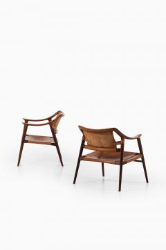 Adolf Relling Easy Chairs Model 56 2 Bambi Produced by Gustav Bahus - 1886584