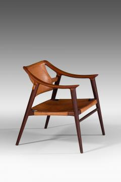 Adolf Relling Easy Chairs Model 56 2 Bambi Produced by Gustav Bahus - 1886588
