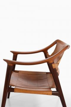 Adolf Relling Easy Chairs Model 56 2 Bambi Produced by Gustav Bahus - 1886589