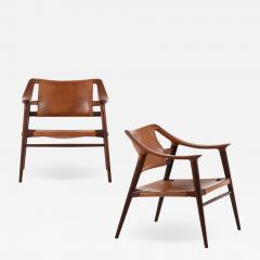 Adolf Relling Easy Chairs Model 56 2 Bambi Produced by Gustav Bahus - 1888247