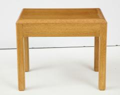 Adolphe Chanaux Rare Adolphe Chanaux Waxed Oak Occasional Tables - 1224024