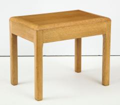 Adolphe Chanaux Rare Adolphe Chanaux Waxed Oak Occasional Tables - 1224025