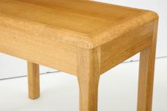 Adolphe Chanaux Rare Adolphe Chanaux Waxed Oak Occasional Tables - 1224027