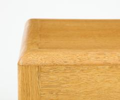 Adolphe Chanaux Rare Adolphe Chanaux Waxed Oak Occasional Tables - 1224028