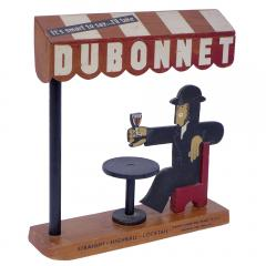 Adolphe Mouron Cassandre 3D Wood Promotional Display Dubonnet by AM Cassandre 1932 - 189109