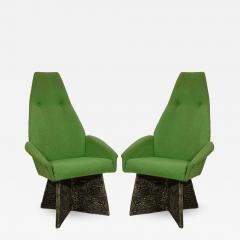 Adrian Pearsall Adrian Pearsall Set of Four Brutalist Dining Room Chairs for Craft Associates - 770144