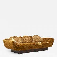 Adrian Pearsall Adrian Pearsall Spanish Sofa USA 1970s - 2139831