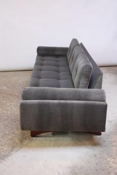 Adrian Pearsall Adrian Pearsall for Craft Associates Gondola Sofa in Walnut and Velvet - 892086