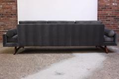 Adrian Pearsall Adrian Pearsall for Craft Associates Gondola Sofa in Walnut and Velvet - 892087