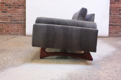 Adrian Pearsall Adrian Pearsall for Craft Associates Gondola Sofa in Walnut and Velvet - 892088