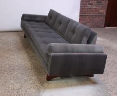 Adrian Pearsall Adrian Pearsall for Craft Associates Gondola Sofa in Walnut and Velvet - 892089