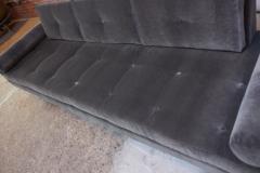 Adrian Pearsall Adrian Pearsall for Craft Associates Gondola Sofa in Walnut and Velvet - 892090