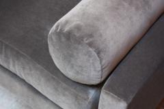 Adrian Pearsall Adrian Pearsall for Craft Associates Gondola Sofa in Walnut and Velvet - 892091