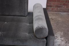 Adrian Pearsall Adrian Pearsall for Craft Associates Gondola Sofa in Walnut and Velvet - 892095