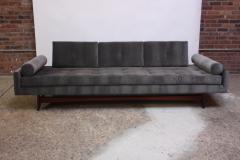 Adrian Pearsall Adrian Pearsall for Craft Associates Gondola Sofa in Walnut and Velvet - 892101