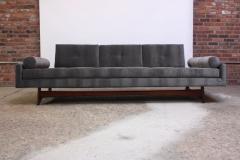 Adrian Pearsall Adrian Pearsall for Craft Associates Gondola Sofa in Walnut and Velvet - 892102