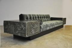 Adrian Pearsall Brutalist Platform Sofa By Adrian Pearsall   526493