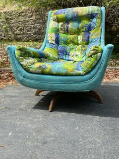 Adrian Pearsall EXCEPTIONAL MID CENTURY ADRIAN PEARSALL SWIVEL BASE ARMCHAIR - 1951571