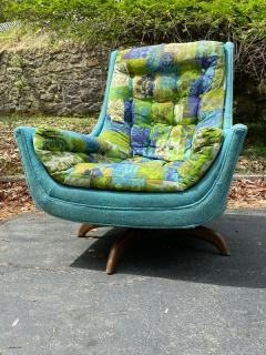 Adrian Pearsall EXCEPTIONAL MID CENTURY ADRIAN PEARSALL SWIVEL BASE ARMCHAIR - 1951572