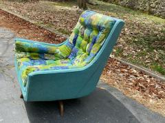 Adrian Pearsall EXCEPTIONAL MID CENTURY ADRIAN PEARSALL SWIVEL BASE ARMCHAIR - 1951573