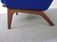 Adrian Pearsall Excellent Adrian Pearsall Sculptural Walnut Wingback Lounge Chair Mid Century - 1307571