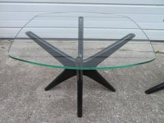 Adrian Pearsall Fabulous Pair of Adrain Pearsall Jax Lacquered Side End Table Mid Century Modern - 1307526