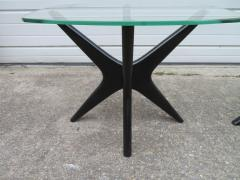 Adrian Pearsall Fabulous Pair of Adrain Pearsall Jax Lacquered Side End Table Mid Century Modern - 1307527