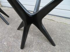 Adrian Pearsall Fabulous Pair of Adrain Pearsall Jax Lacquered Side End Table Mid Century Modern - 1307539