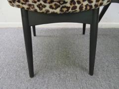 Adrian Pearsall Fantastic Set Four Adrian Pearsall Lacquered Dining Chairs Mid Century Modern - 1307520