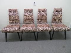 Adrian Pearsall Fantastic Set Four Adrian Pearsall Lacquered Dining Chairs Mid Century Modern - 1307521