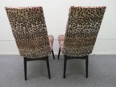 Adrian Pearsall Fantastic Set Four Adrian Pearsall Lacquered Dining Chairs Mid Century Modern - 1307530