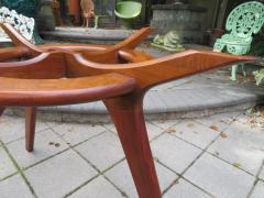 Adrian Pearsall Gorgeous Adrian Pearsall Sculptural Walnut Dining Table Mid Century Modern - 1697080